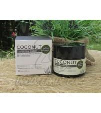 Кокосовое увлажняющее масло для сухой кожи от Phutawan, Coconut Hydrating Butter, 90 гр