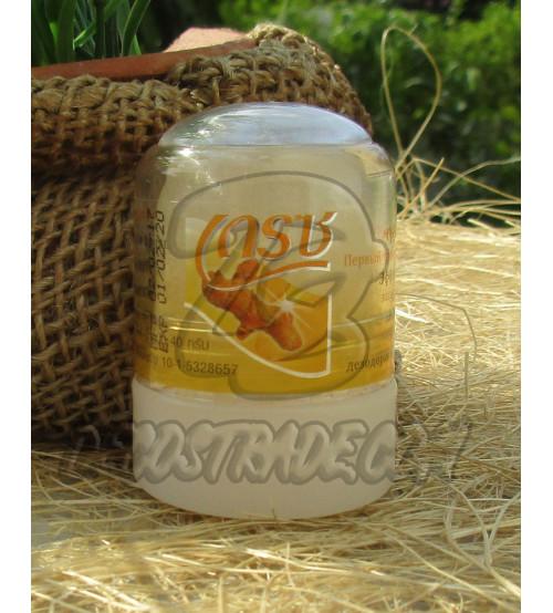Дезодорант-кристалл «Crace» с куркумой от Novovlife, Crace Deodorant Turmeric, 40 гр