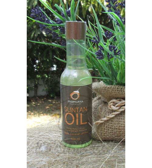 Кокосовое масло для загара от  Tropicana Oil, Suntan Oil Tropicana (Non-preservative), 100 мл