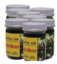 108 Herbs Black Balm 15 g. set 12 jar