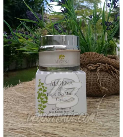 Био-морской крем для лица с тремя водорослями от Algena, Triple Bio-Marine Cream, 35 гр