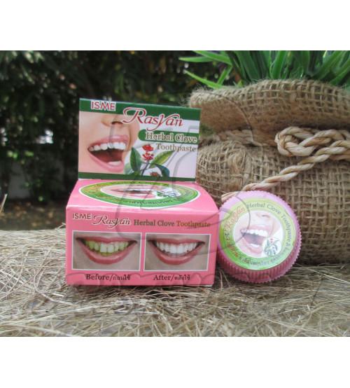 Травяная зубная паста от ISME Rasyan, Herbal Clove Toothpaste, 5 гр