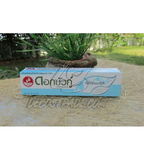 """Растительная зубная паста  """"Свежесть""""от Twin Lotus, Fresh & Cool Herbal Toothpaste, 100 гр"""