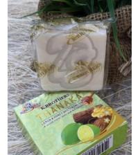 Отбеливающее мыло с Танака, Лимоном и Медом от K.BROTHERS, Thanaka Lemon & honey whitening soap, 60 гр