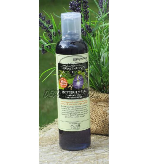Шампунь Мотыльковый Горошек (Клитория) от Bynature, Butterfly Pea shampoo, 250 мл