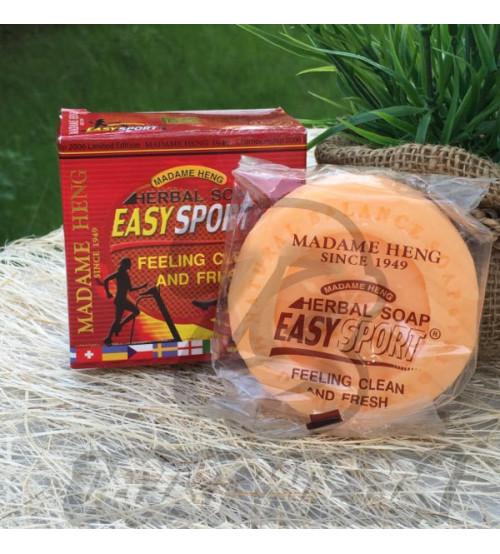 Мыло для людей с активным образом жизни от Madame Heng, Easy sport soap herbal active, 150 гр