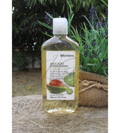 Шампунь с экстрактом Авокадо для поврежденных волос от Bynature, Avocado intensive shampoo, 300 мл