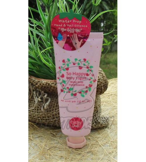 Увлажняющая эссенция для рук «Ягодный йогурт» от Cathy Doll, Sohappy berry yogurt water drop hand essence, 35 гр