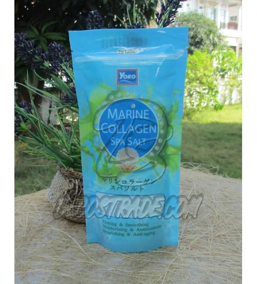 Спа-соль для тела «Морской коллаген» от YOKO, Spa Marine Collagen, 300 гр