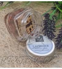 Традиционный тайский травяной ингалятор в стеклянной банке «Лаванда», 5 гр