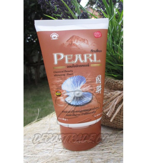 Очищающая осветляющая пенка для умывания с жемчужной пудрой Kokliang, Cleansing Foam Pearl Whitenning, 100 гр