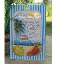 Осветляющий гель-скатка для лица «Гавайская свежесть: Апельсин и Морковь», Hawaiian Cool, 15 гр
