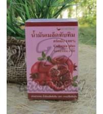 100% Масло Гранатовых косточек с Коллагеном для лица, волос и тела, Pomegranate Oil Collagen Plus, 15 мл