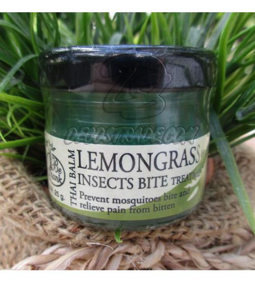 Бальзам «Лемонграсс» против укусов насекомых от Be Thank, Thai Balm Lemongrass 25 гр