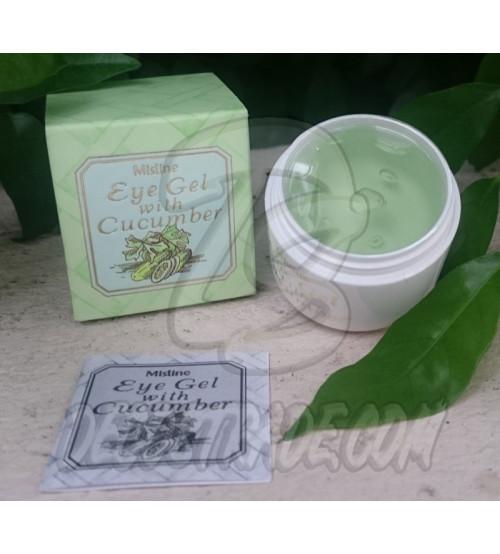 Гель для кожи вокруг глаз с экстрактом огурца от Mistine, Eye gel with Cucumber, 10 гр
