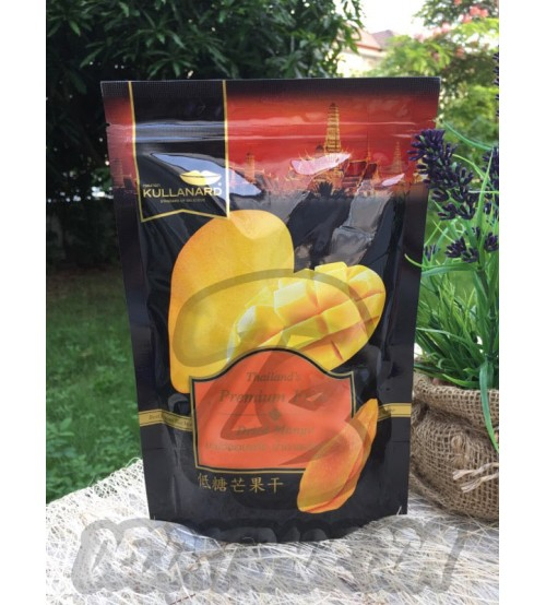 Сушеное манго от Kullanard, Dried Mango, 150 гр
