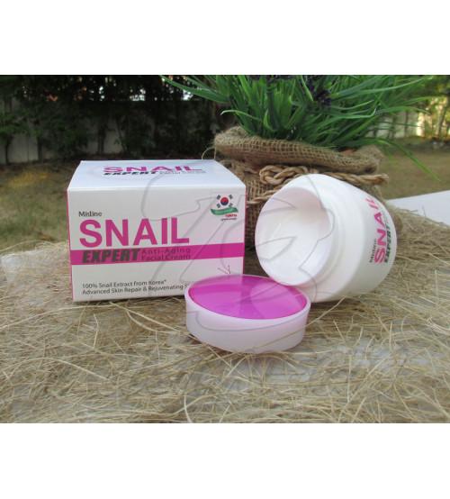Антивозрастной крем с экстрактом улиточной слизи от Mistine, Snail Expert Anti-Aging Facial Cream, 40 гр