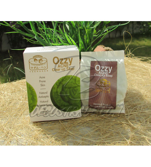 Мыло против акне от Madame Heng, Ozzy acne claer Up Soap, 50 гр