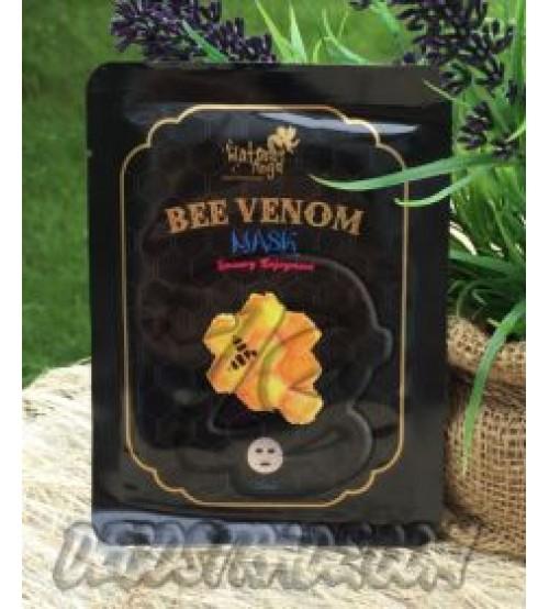 Антивозрастная тканевая маска для проблемной кожи на основе пчелиного яда от Water Angel, Bee Venom Mask, 25 мл