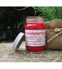 Тайский красный бальзам, Thai Label Balm Red, 100 гр