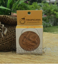 Натуральный кокосовый бальзам для губ «Манго» от Tropicana, Natural Coconut Lip Balm «Mango Spirit», 10 гр