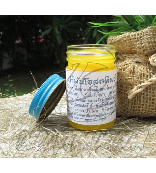 Тайский желтый бальзам, Thai Label Balm Yellow, 50 гр