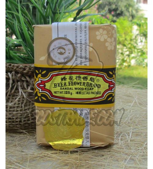 Сандаловое мыло от Bee & Flower Brand, Sandal Wood Soap, 125 гр