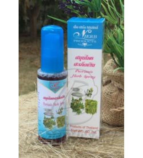 Травяной спрей против экземы и псориаза от  N HERB, Psoriasis Herb Spray, 60 мл