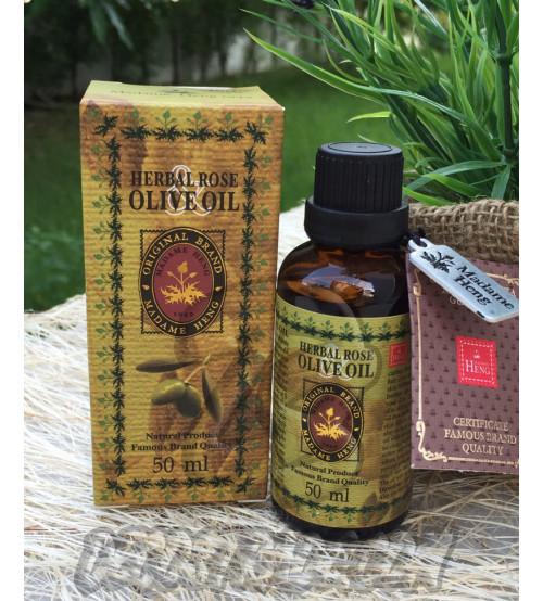 Питательное масло «Роза и Олива» для кожи и волос от Madame Heng, Herbal Rose & Olive oil, 50 мл