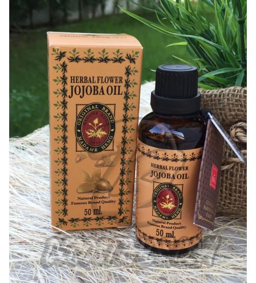 Масло «Жожоба» для кожи и волос от Madame Heng, Herbal Floewr Jojoba Oil, 50 мл