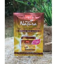 Лечебная маска для волос с маслом ореха макадамии, Hair treatment for noursing & diamond shine + macadamia, Lolane, 10 гр