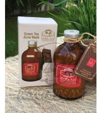 Маска-пудра для проблемной кожи с зеленым чаем от Madame Heng, Green Tea Acne Mask, 50 гр