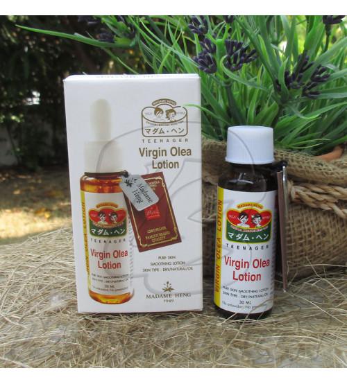 Увлажняющий лосьон-сыворотка для лица на основе оливкового масла от Madame Heng, Virgin Olea Lotion, 30 мл