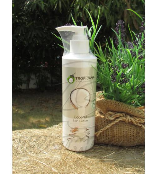 Кокосовый лосьон для тела без парабенов от  Tropicana Oil, Coconut Skin Lotion Coconut (non-parabe) , 200 мл