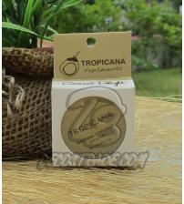 Натуральный кокосовый бальзам для губ «Кокос» от Tropicana, Natural Coconut Lip Balm «Coconut Delight», 10 гр
