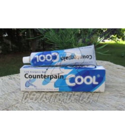 Анальгитический (охлаждающий) гель Counterpain Cool, Cold Analgesic Gel (Relieves Muscular Aches and Pain), 120 гр