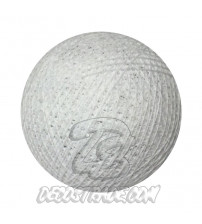 Хлопковый шар для гирлянды, диаметр 6.5 cm 5001