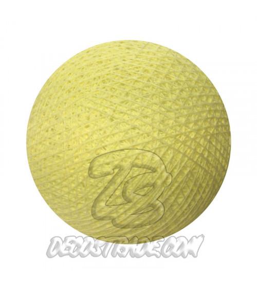 Хлопковый шар для гирлянды, диаметр 6.5 cm 5013