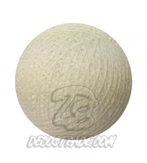 Хлопковый шар для гирлянды, диаметр 6.5 cm 5051