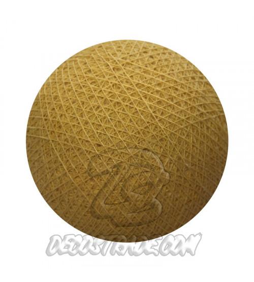 Хлопковый шар для гирлянды, диаметр 6.5 cm 5083
