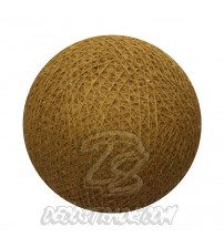 Хлопковый шар для гирлянды, диаметр 6.5 cm 5085