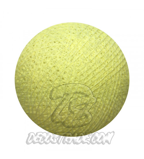 Хлопковый шар для гирлянды, диаметр 6.5 cm 5087