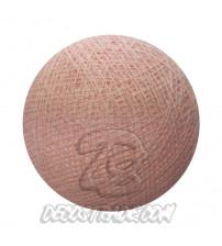 Хлопковый шар для гирлянды, диаметр 6.5 cm 5165