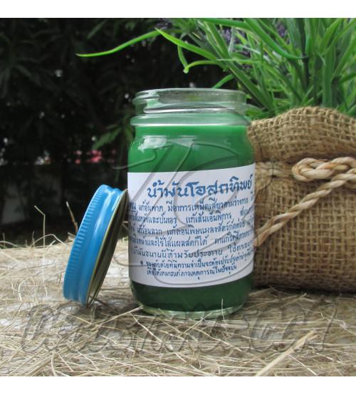Тайский бальзам зеленый, Thai Label Balm Green, 100 гр
