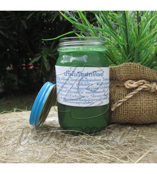 Тайский бальзам зеленый, Thai Label Balm Green, 200 гр