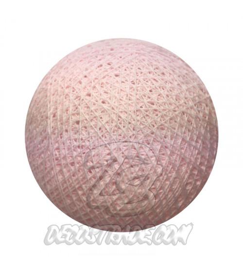 Хлопковый шар для гирлянды, диаметр 6.5 cm 5213