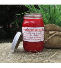 Тайский красный бальзам, Thai Label Balm Red, 200 гр