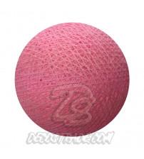 Хлопковый шар для гирлянды, диаметр 6.5 cm 5221