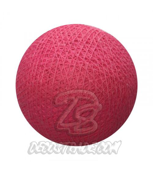 Хлопковый шар для гирлянды, диаметр 6.5 cm 5223