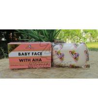 Омолаживающее мыло с АНА кислотами от K.BROTHERS, Baby Face Soap With AHA, 110 гр